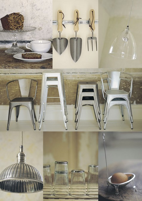 Industrial interiors with feminine touches…