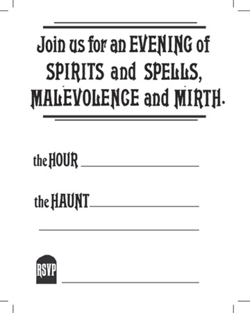 Witches Invites