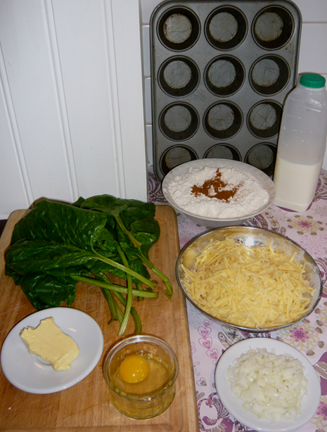 Chard and Cheese