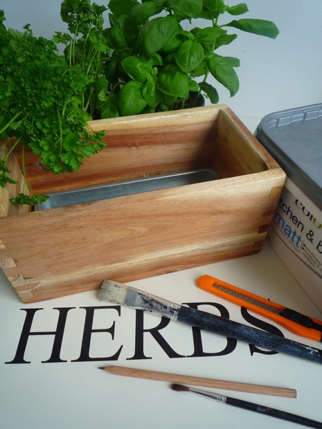 Herb Box DIY