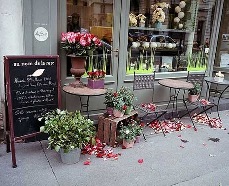 In the name of the rose the beat that my heart skipped for Designs east florist interior