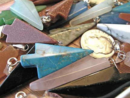 Gemstone Arrowheads