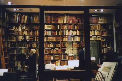 Winter Bookstore