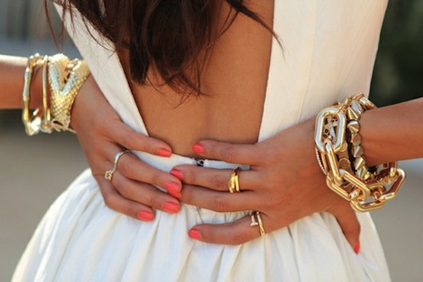Bracelets and Coral