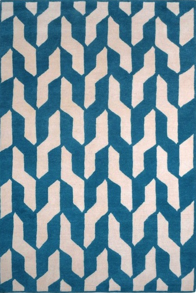 Cable Blue, The Rug Company