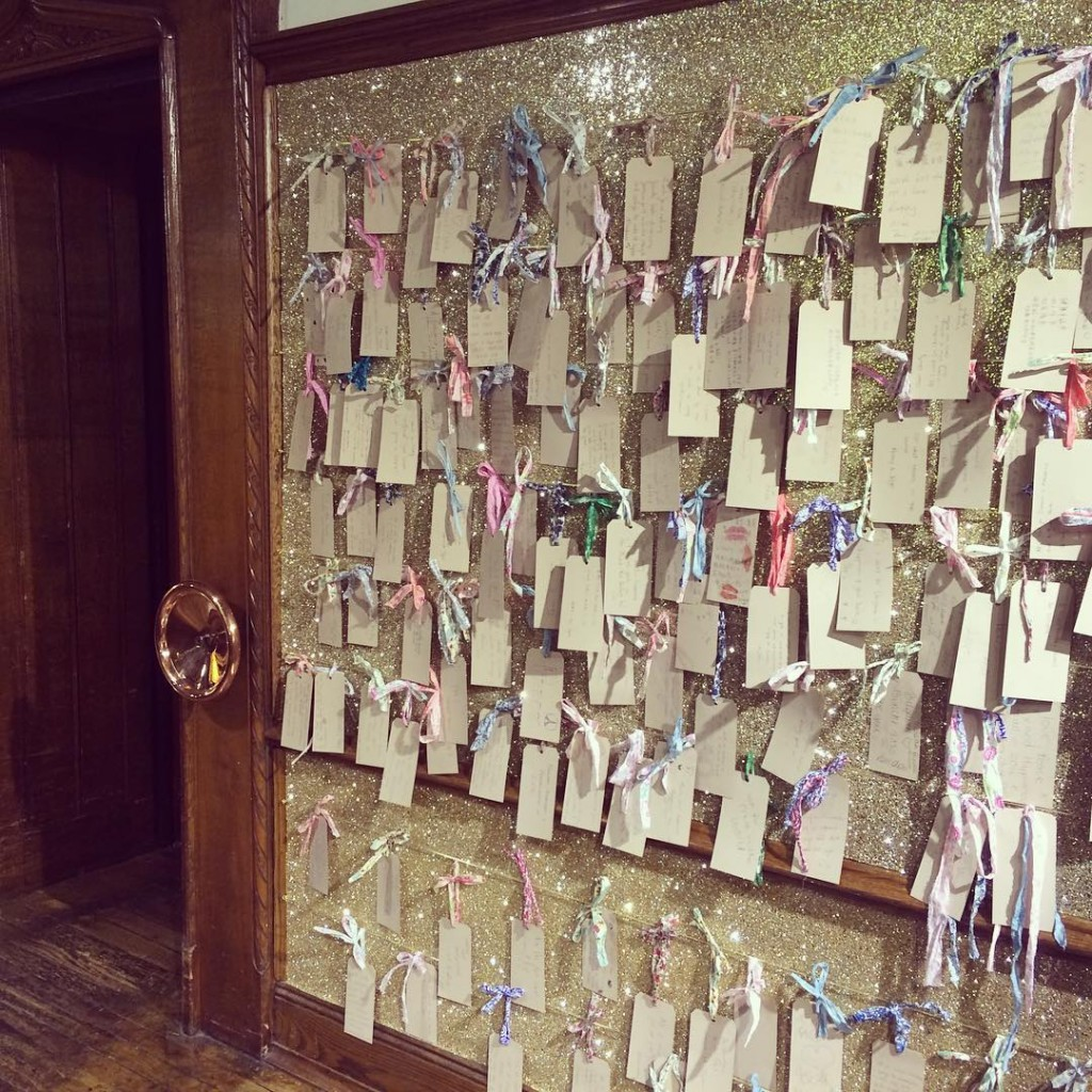 Christmas Wish wall libertylondon nbspRead more