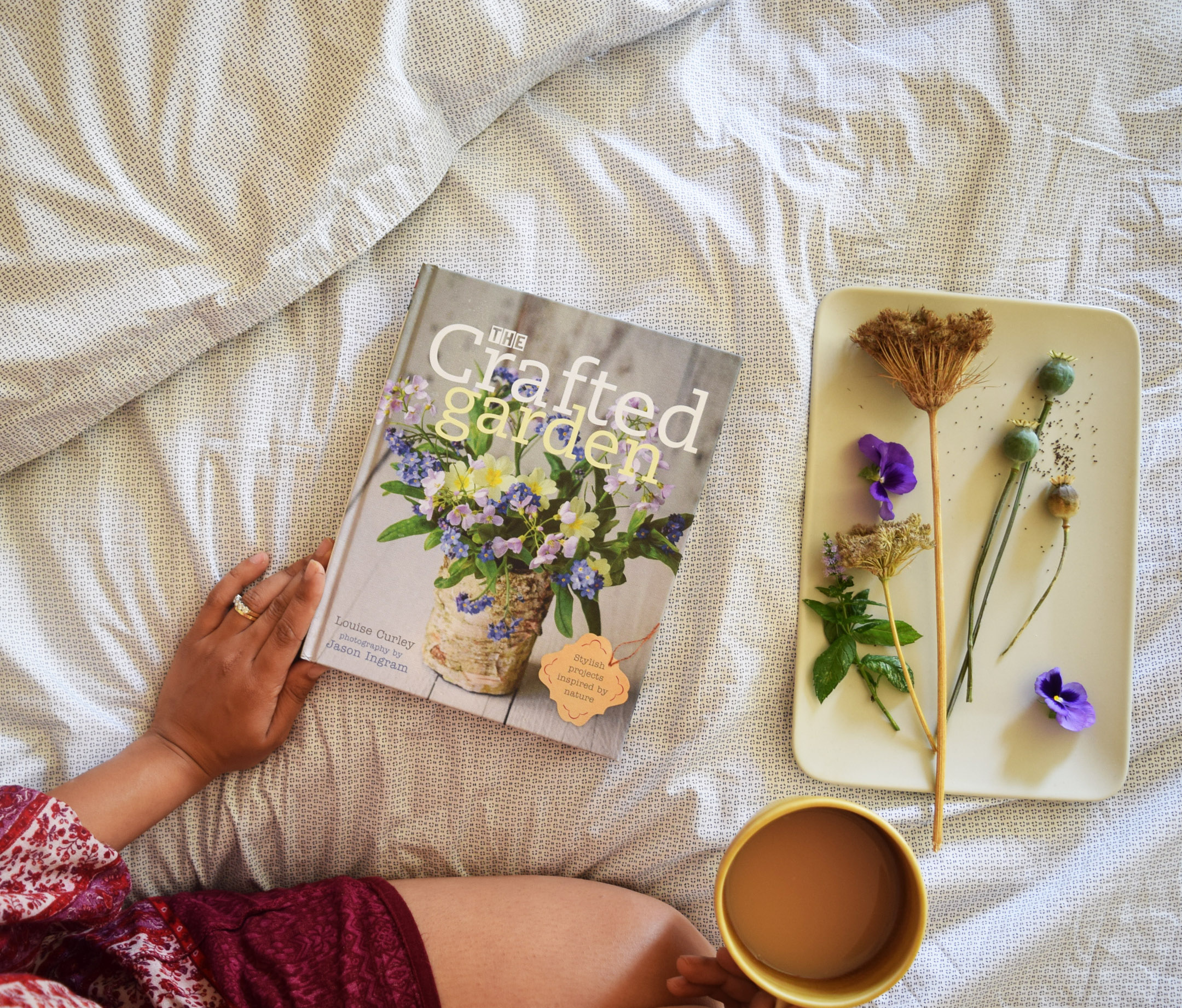 New Book! The Crafted Garden