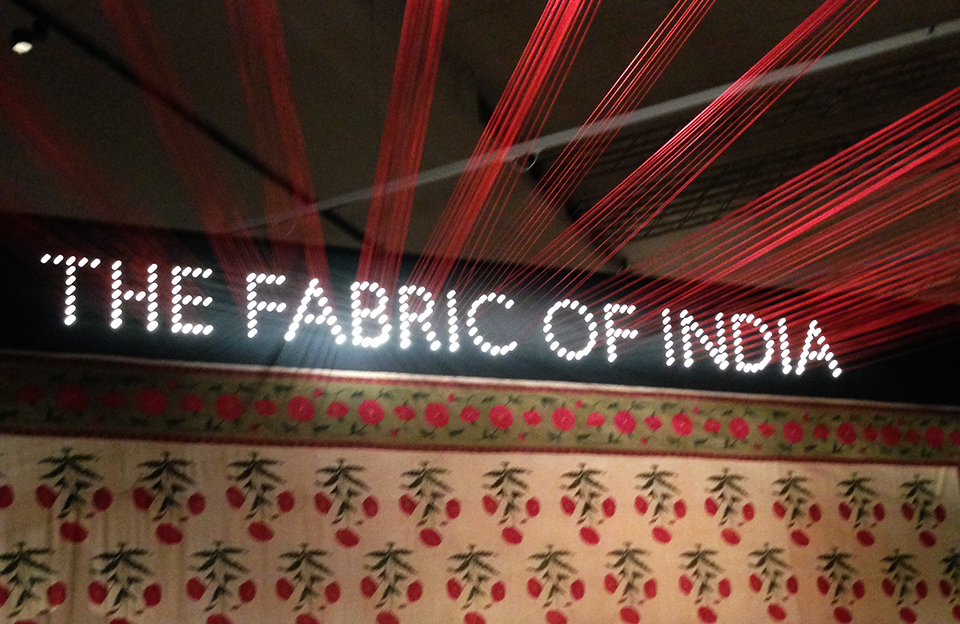 Must See: The Fabric of India