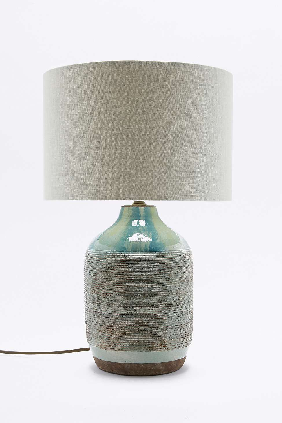10 Beautiful Pottery Lamps • The Beat That My Heart Skipped