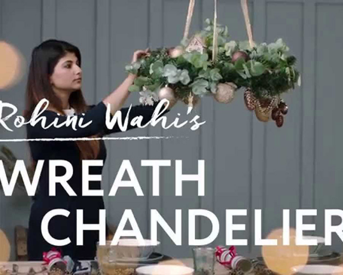 House of Fraser Christmas DIY 2015
