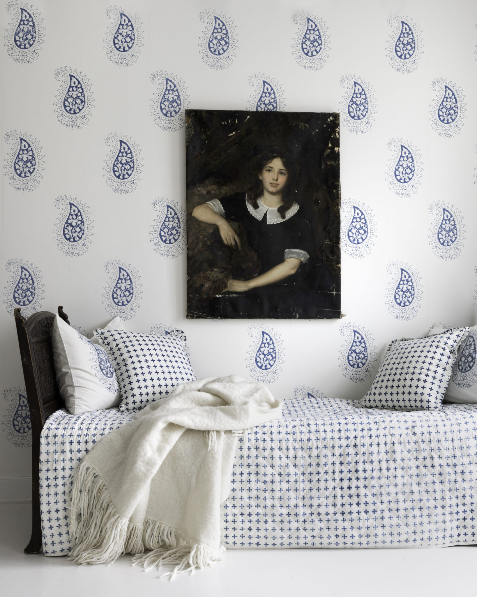 Marie Wallpaper $150 Les Indiennes